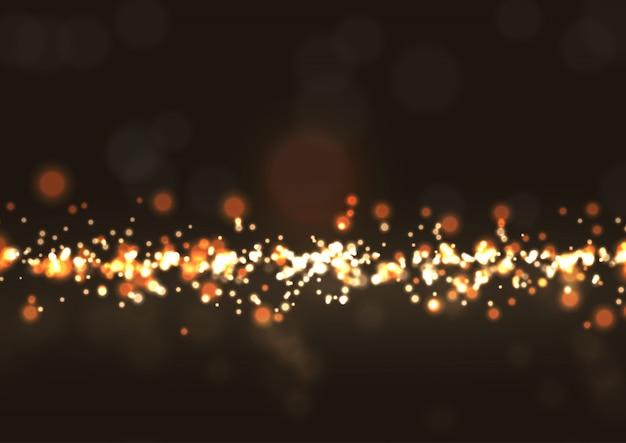 Luzes brilhantes do bokeh