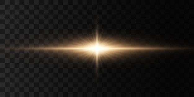 Luzes brilhantes e estrelas.