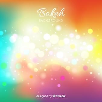 Luzes de bokeh abstratas bakground