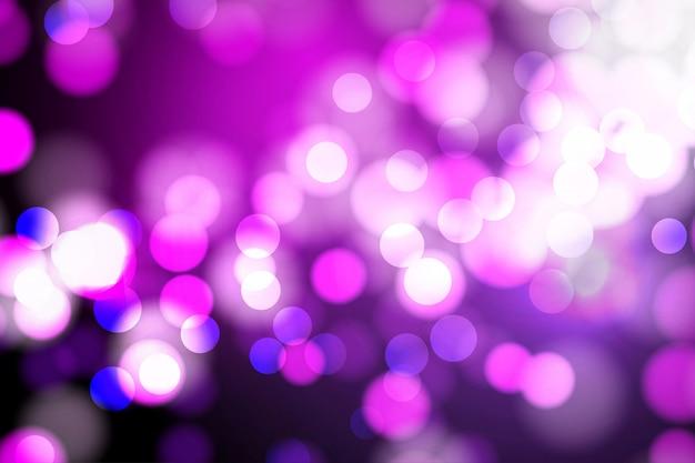 Luzes de bokeh e fundo de brilho