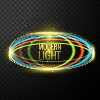 Luzes de fundo moderno