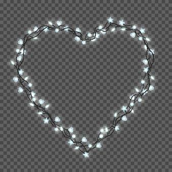 Luzes de natal brilhantes