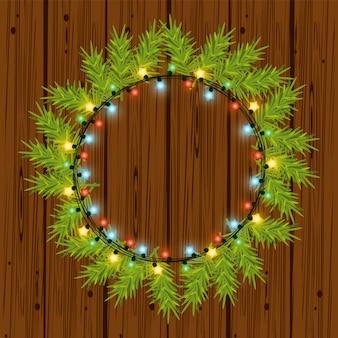 Luzes de natal para decoração