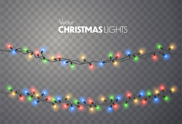 Luzes de natal.