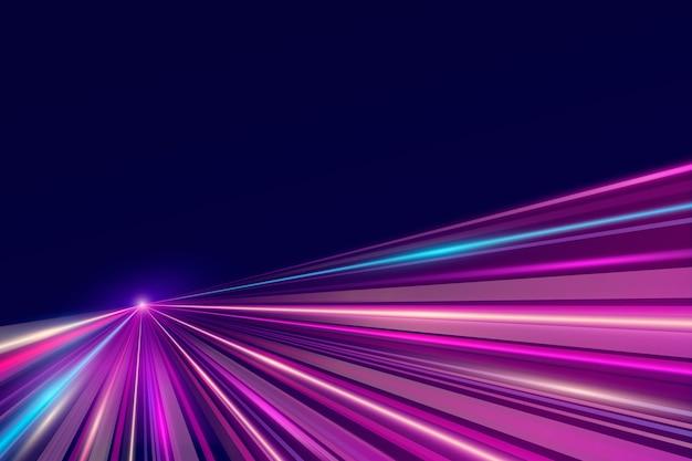 Luzes de néon de fundo