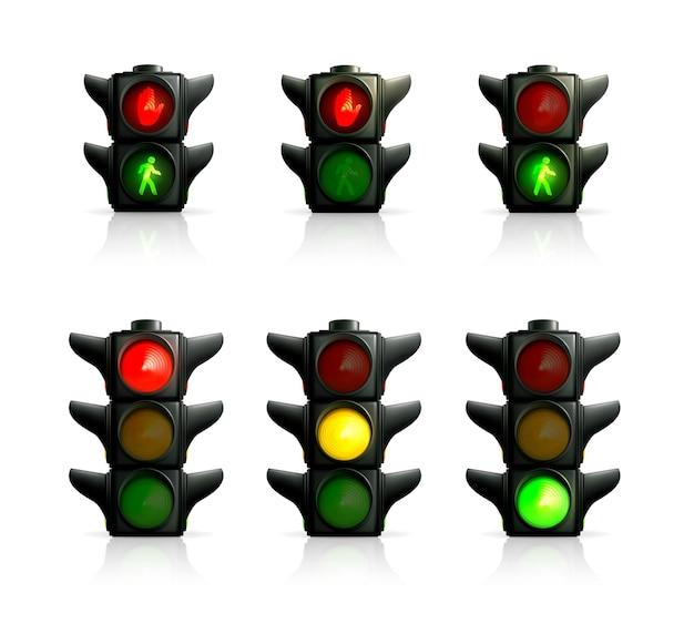 Luzes de trânsito,