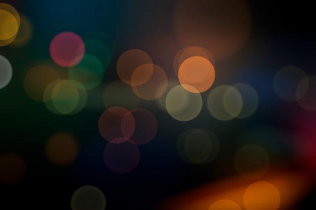 Luzes desfocadas festivas