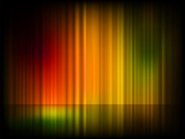 Luzes do norte (aurora boreal).