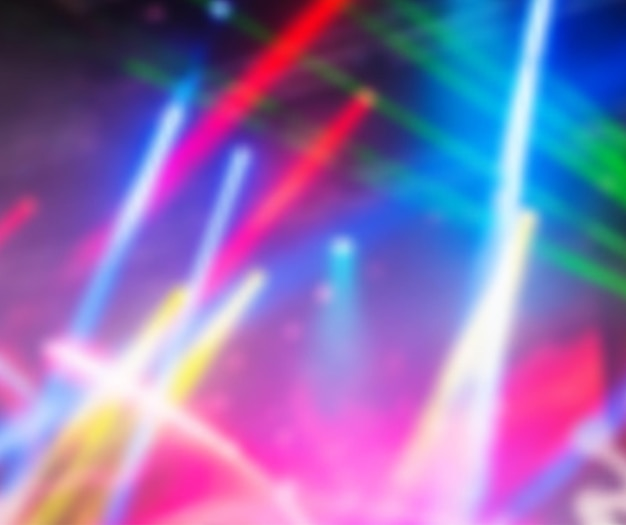 Luzes dramáticas multicoloridas de fundo vector