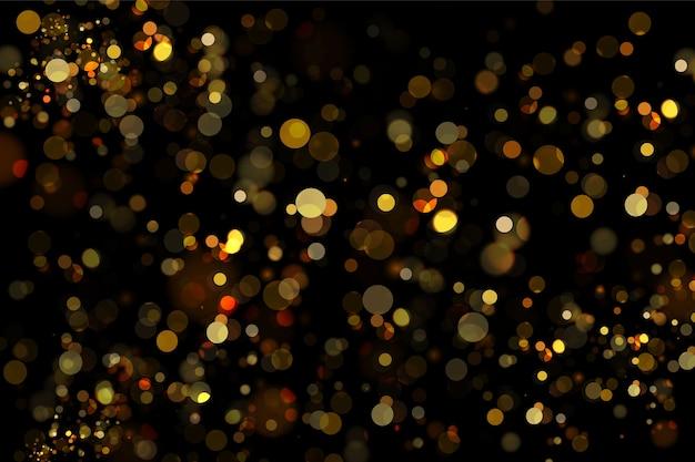 Luzes lindas de bokeh borrado