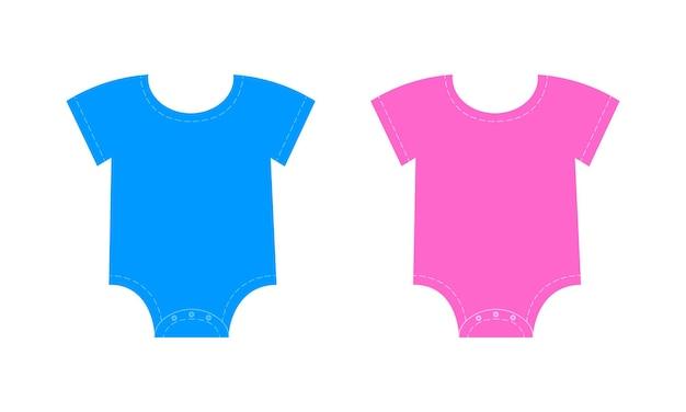 Macacão de bebê para menino e menina acessórios para gênero revelam festa ou chá de bebê