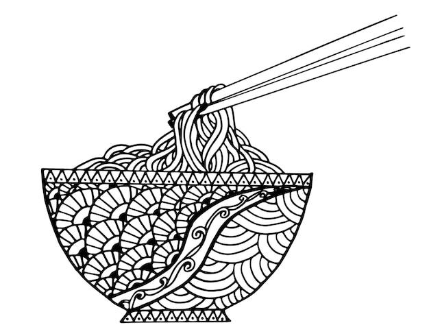 Macarrão de doodle