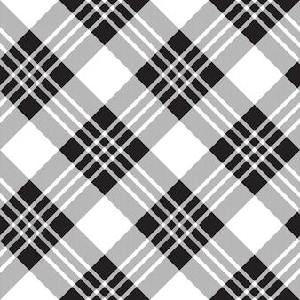 Macgregor tartan padrão de fundo diagonal sem emenda