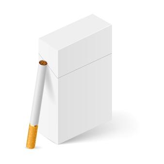 Maço de cigarros branco