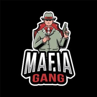 Mafia gang esport logotipo