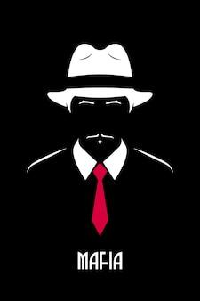 Mafioso italiano mafioso de chicago
