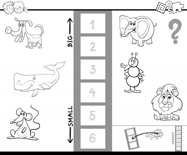 Maior jogo de colorir para animais