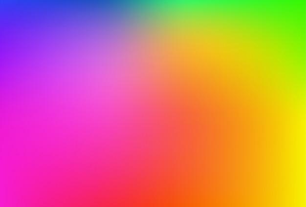 Malha de gradiente turva fundo em cores suaves do arco-íris.