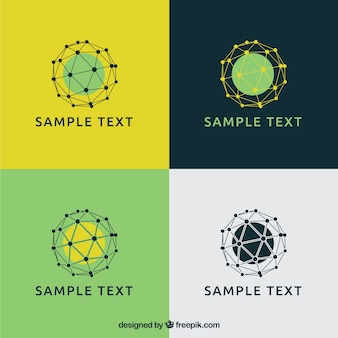 Malha esferas logos
