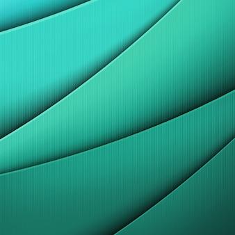 Malha gradiente de fundo verde, ilustração