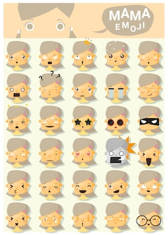 Mama emoji ícones