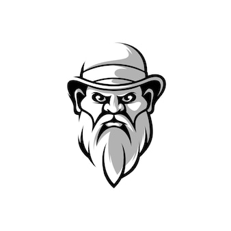 Man mascot design