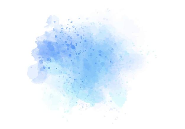 Mancha colorida abstrata de aquarela