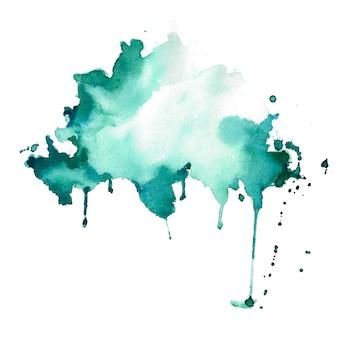 Mancha de aquarela abstrata splatter textura de fundo