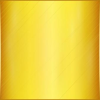 Mancha o fundo realista de placa dourada.