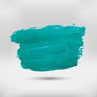 Mancha verde aquarela
