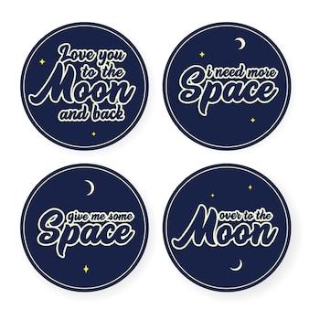 Manchas de espaço