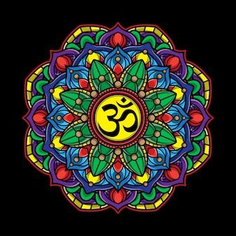 Mandala aura art