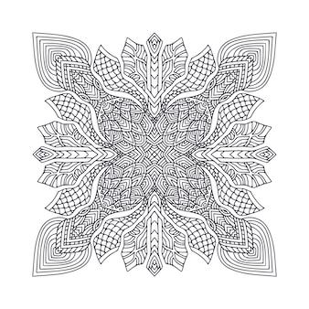 Mandala boêmia ornamental