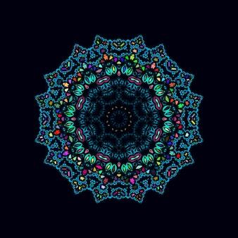 Mandala coloful