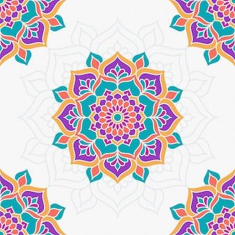 Mandala colorida