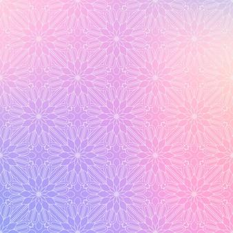 Mandala de fundo vector