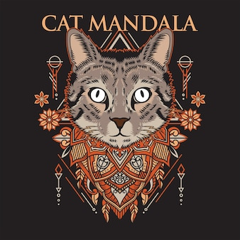 Mandala de gato