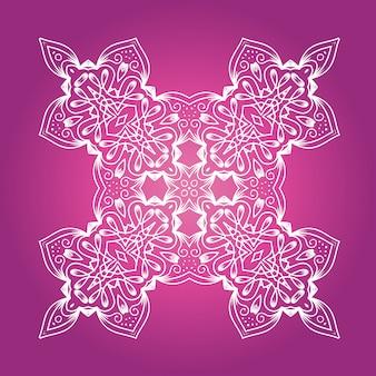 Mandala de meditação étnica fractal