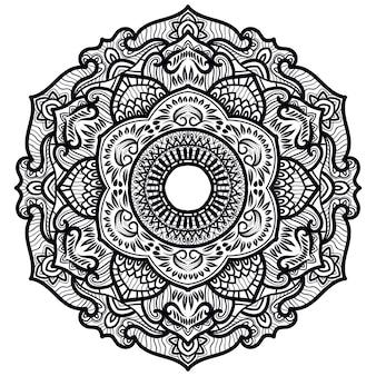Mandala decorativa art