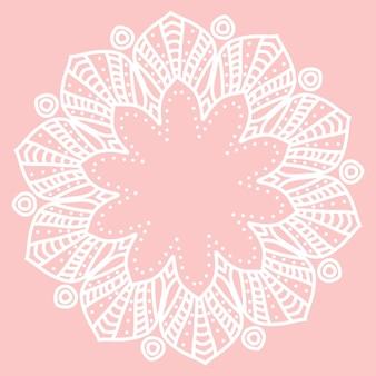 Mandala. desenho étnico elemento decorativo ilustração vetorial eps 10 para seu projeto.