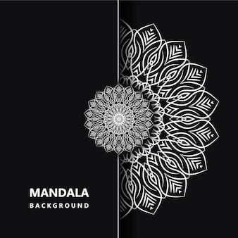 Mandala design background eps