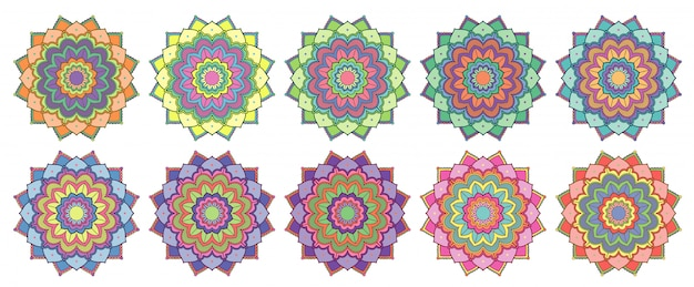 Mandala design isolated