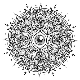 Mandala do terceiro olho