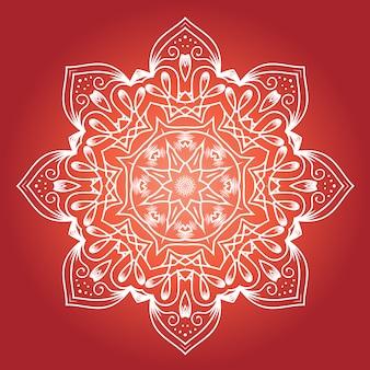 Mandala étnica do fractal