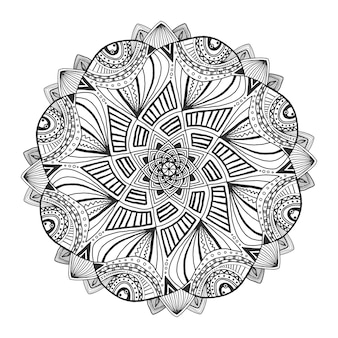 Mandala floral ornamental