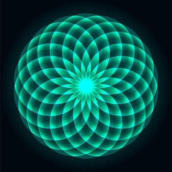 Mandala geometria sagrada