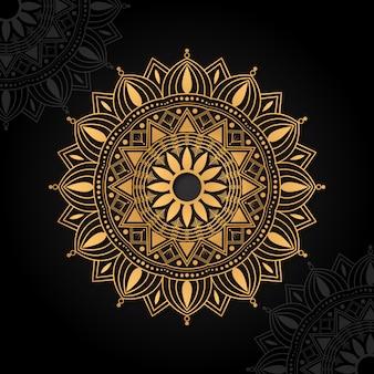Mandala islâmica de luxo