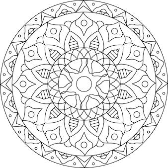 Mandala linear design