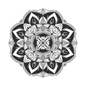 Mandala mão desenho ilustração