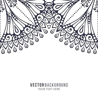 Mandala. padrão de ornamento redondo. elementos decorativos vintage